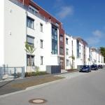 Die beiden Gebäude heben sich durch ihre architektonische Gestaltung deutlich vom Standard ab und bieten einen hohen Wohnkomfort.  Bild: tdx/Mein Ziegelhaus
