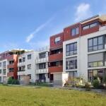 Die wbl bauträger GmbH & Co.KG hat in Landsberg am Lech 40 neue Wohnungen auf KfW 70 Standard erbaut. Baustoff war der MZ10 von Mein Ziegelhaus.  Bild: tdx/Mein Ziegelhaus