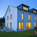 Doppelhaus (Passivhaus) |  Planer: modulor Ges. für nachh. Bauen mbH, Lindau