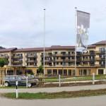 """Vor traumhafter Bergkulisse entstand in Oberjoch das """"Alpin Spa Panorama Hotel"""". Gebaut wurde es mit dem TS13 Ziegel vom Ziegelwerk Klosterbeuren.  Bild: Ziegelwerk Klosterbeuren"""