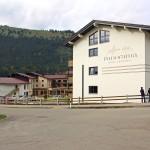 Das Panoramahotel wurde auf einer Fläche von 12.000 m² mit Ziegeln vom Ziegelwerk Klosterbeuren gebaut, da diese natürlich sind und für ein behagliches Wohnklima sorgen.  Bild: Ziegelwerk Klosterbeuren