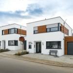 Die preisgünstigste Alternative zur Mietwohnung ist das Reihenhaus, das mit durchschnittlich 200 Quadratmetern eine viel kleinere Grundfläche benötigt als ein Doppel- oder Einfamilienhaus.  Bild: tdx/Mein Ziegelhaus