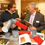 Die begleitende Fachausstellung stieß beim Mauerwerkstag Memmingen erneut auf ein sehr großes Interesse.  Foto: Ingo Jensen/Jensen media