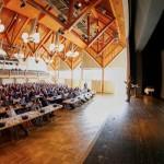 Über 300 Planer, Architekten und Bauunternehmer bildeten sich beim Mauerwerkstag Memmingen weiter.  Foto: Ingo Jensen/Jensen media