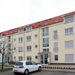 24 Wohneinheiten bietet das Mehrfamilienhaus in Hochheim am Main. Basis ist der Baustoff Ziegel, mit dem ein energieeffizientes Gebäude entstand.  Bild: tdx/Mein Ziegelhaus