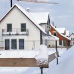 Gerade im Winter wird deutlich, dass die Außenwände nicht nur eine tragende, sondern auch eine schützende Funktion haben. Sie müssen Wind und Kälte gleichermßen abhalten.  Bild: tdx/Mein Ziegelhaus