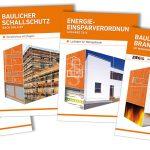 In unserem Download-Bereich sind die technischen Broschüren der Arbeitsgemeinschaft Mauerziegel zu finden. Diese bieten vertiefende Informationen von der Energieeinsparverordnung 2016 (EnEV), über die Bemessung bis zum Brand- und baulichen Schallschutz.