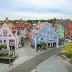 Der Historie nachempfunden und damit ideal in die Umgebung eingefügt – so präsentiert sich das neue Hotel in Memmingen. Durch den exakten Nachbau wurde die historische Innenstadt erfolgreich erhalten. Bild: tdx/Mein Ziegelhaus