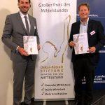 Hatten sichtlich Grund zur Freude: Matthias Hörl (li.) und Thomas Thater