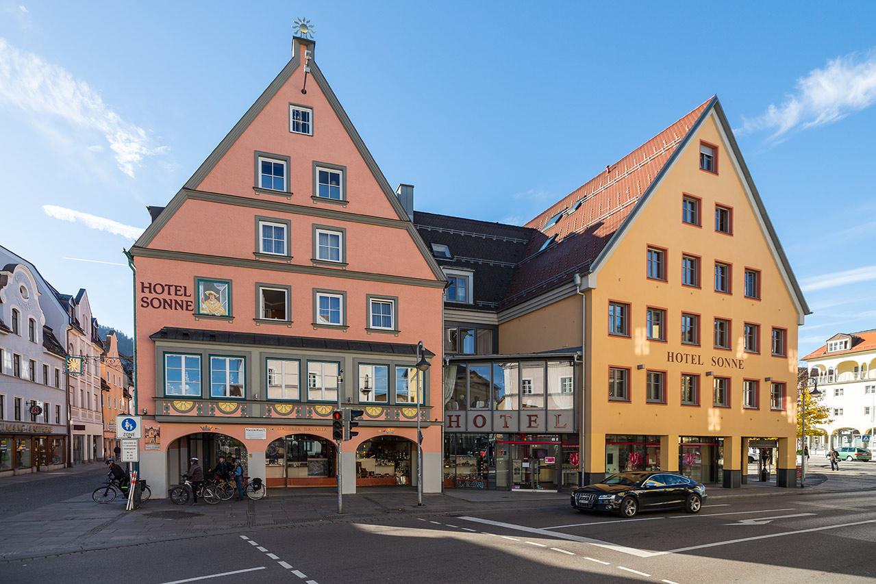 Referenzgebaude Hotel Sonne In Fussen Ziegelwerk Klosterbeuren