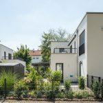 Auch die Doppelhäuser fügen sich harmonisch ind das moderne optische Gesamtkonzept des Wohnquartiers Kaufbeuren  Bildquelle: Mein Ziegelhaus/Bauwerk Perspektiven