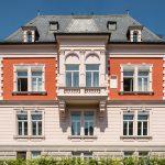 Ein besonderes Schmuckstück der Stadt ist die historische Momm-Villa mit zugehörigem Industrieareal aus dem 19. Jahrhundert.  Bildquelle: Mein Ziegelhaus/Bauwerk Perspektiven