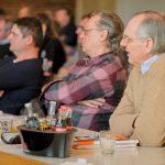 Beim Mauerwerkstag 2019 befassten sich rund 270 Bauprofis mit den Neuerungen in Bezug auf den Brand- und Schallschutz, das Baurecht sowie das Gebäudeenergiegesetz (GEG). Foto: Ingo Jensen/Ziegelwerk Klosterbeuren
