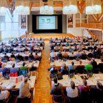 250 Fachbesucher bildeten sich beim Mauerwerkstag Memmingen weiter.  Foto: Ingo Jensen/Ziegelwerk Klosterbeuren